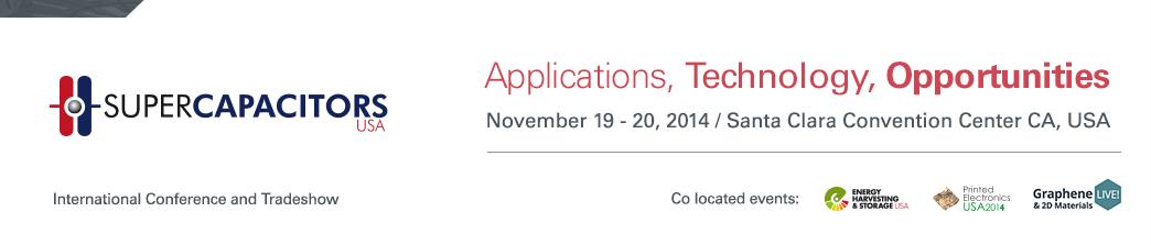 Supercapacitors USA 2014 | Conference